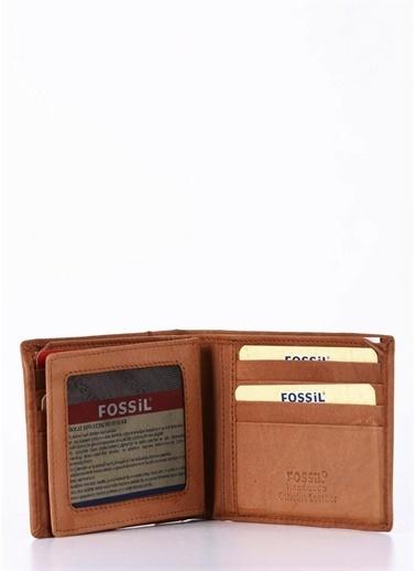 Fossil Deri Cüzdan Taba